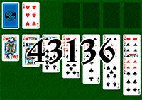 Пасьянс №43136