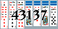 Пасьянс №43137