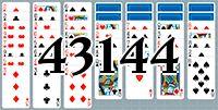 Пасьянс №43144