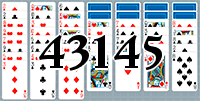 Пасьянс №43145