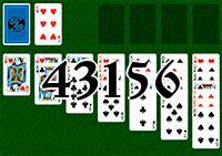 Пасьянс №43156