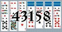 Пасьянс №43158