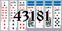 Пасьянс №43181