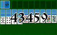 Пасьянс №43459