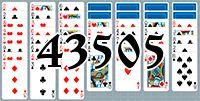 Пасьянс №43505