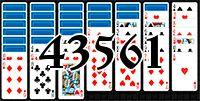 Пасьянс №43561
