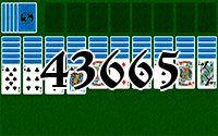 Пасьянс №43665