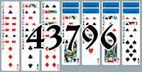 Пасьянс №43796