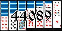 Пасьянс №44089