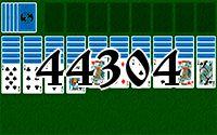 Пасьянс №44304