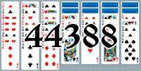 Пасьянс №44388