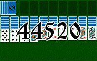 Пасьянс №44520