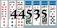 Пасьянс №44535