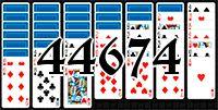 Пасьянс №44674