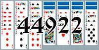 Пасьянс №44922