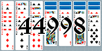 Пасьянс №44998