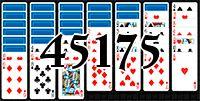 Пасьянс №45175