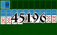 Пасьянс №45196