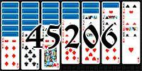 Пасьянс №45206