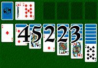 Пасьянс №45223