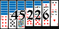 Пасьянс №45226