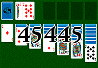 Пасьянс №45445
