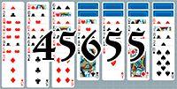 Пасьянс №45655