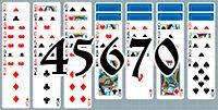 Пасьянс №45670