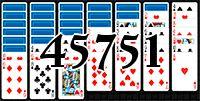 Пасьянс №45751