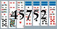 Пасьянс №45752