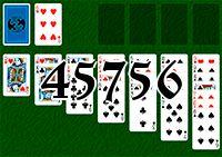 Пасьянс №45756