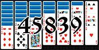 Пасьянс №45839
