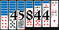 Пасьянс №45844