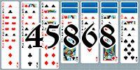 Пасьянс №45868