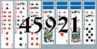 Пасьянс №45921