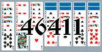 Пасьянс №46411