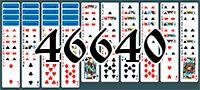 Пасьянс №46640