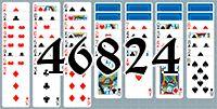 Пасьянс №46824