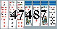 Пасьянс №47487