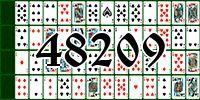 Пасьянс №48209