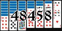 Пасьянс №48458