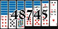 Пасьянс №48745