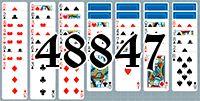 Пасьянс №48847