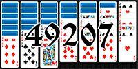 Пасьянс №49207