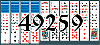 Пасьянс №49259
