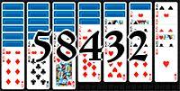 Пасьянс №58432