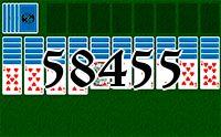 Пасьянс №58455