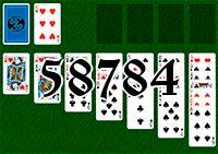 Пасьянс №58784