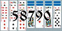 Пасьянс №58790