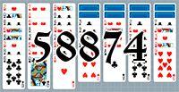 Пасьянс №58874